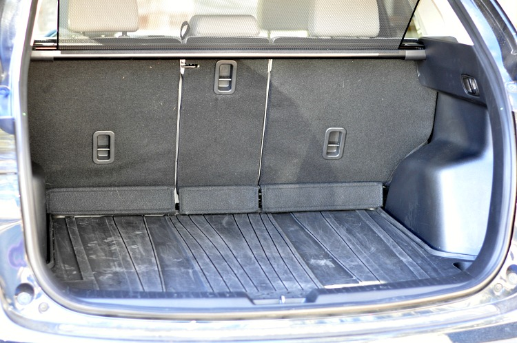 Mazda CX-5 trunk