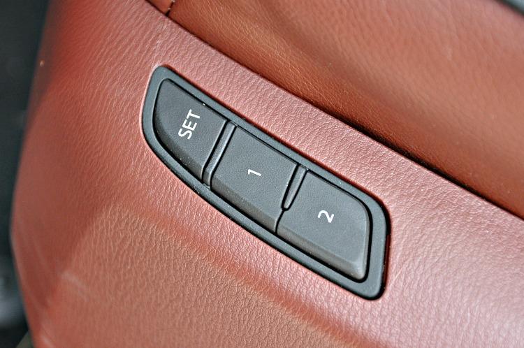 Mazda CX-9 seat settings
