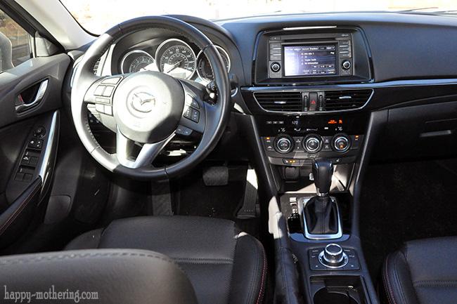 Mazda6 Grand Touring driver's seat