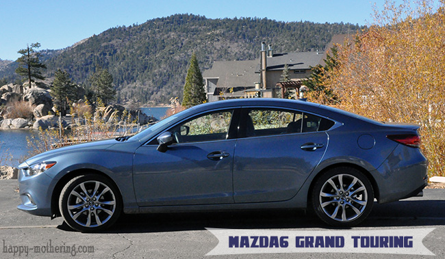 Mazda6 Grand Touring in front of Big Bear Lake