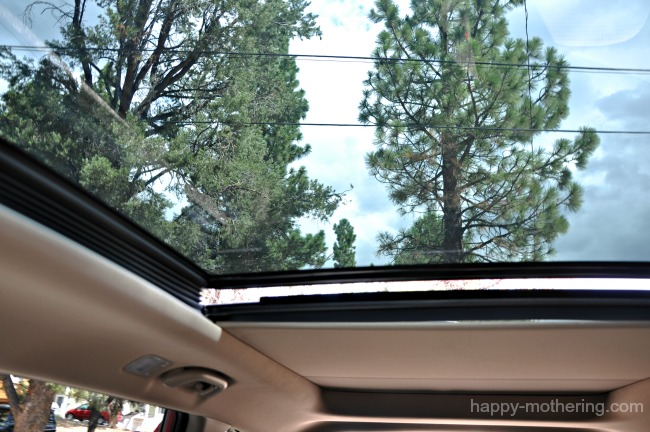 Hyundai Santa Fe sun roof