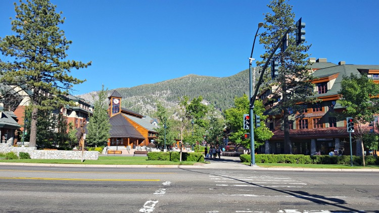 Tahoe South shopping center
